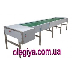 Conveyor for dirty dishes  L=4000 mm...