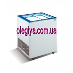 CHEST FREEZER 160 liters (with a straigh...