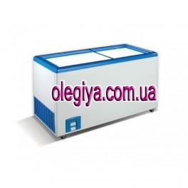Скриня морозильна 460 Л (з прямою скляною кришкою)