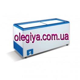 Скриня морозильна 560 Л (з прямою скляною кришкою)