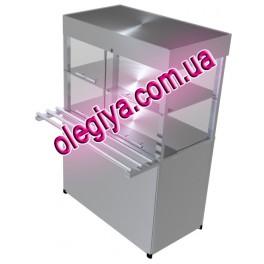 Прилавок охолоджуваний з кубом