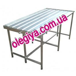 Столы производственные для выкладки сыра
