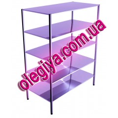 Shelving five-level stainless steel...