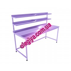 Столы производственные с двумя верхними ...