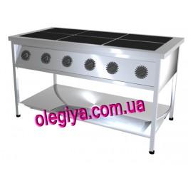 Плиты электрические 6-и конфорочные (без духовки)