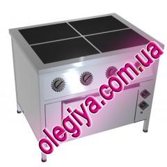 Плиты электрические 4-х конфорочные (с д...