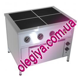 Плиты электрические 4-х конфорочные (с духовкой)