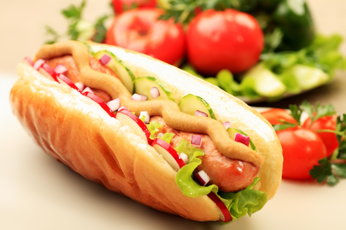 recept hot doga